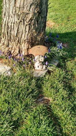 Squirrel Yard Art